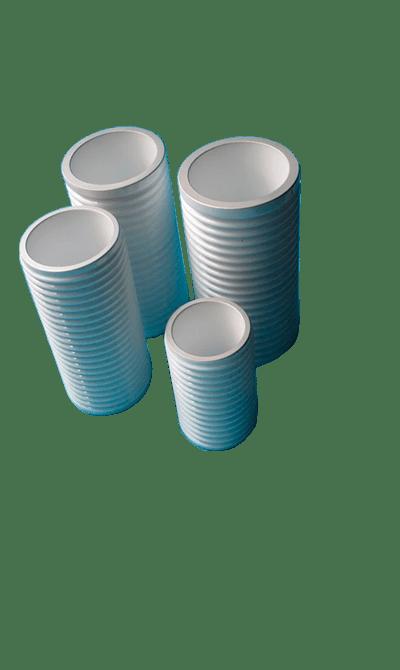 металлизированные керамические трубки