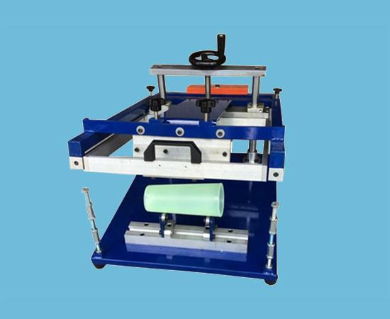Ручная машина для печати на цилиндрических предметах